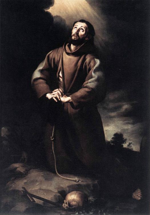 St. Francis of Assisi at Prayer