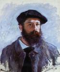 Autoportrait de Claude Monet Coiffe d'un Béret