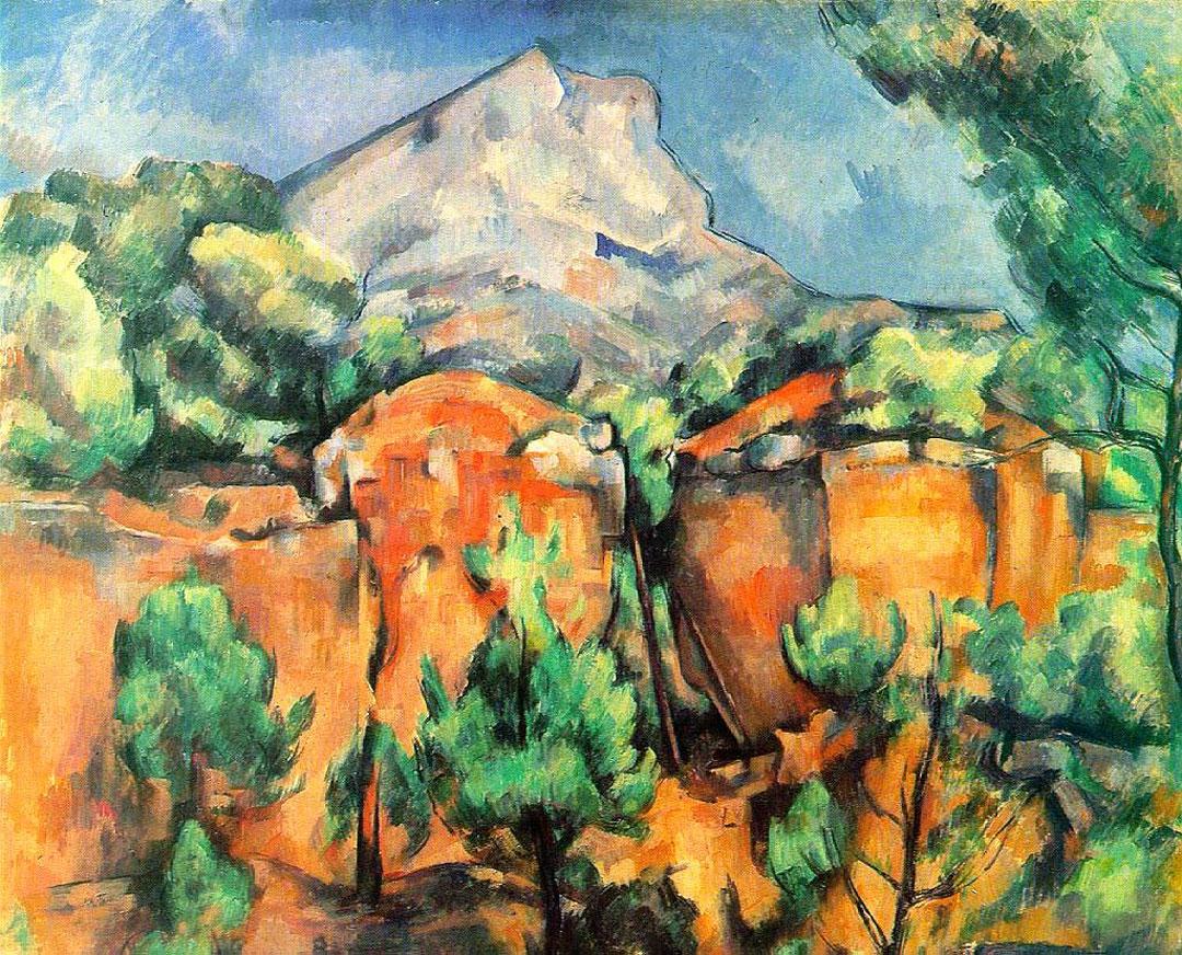 Quarry and Mont Sainte-Victoire