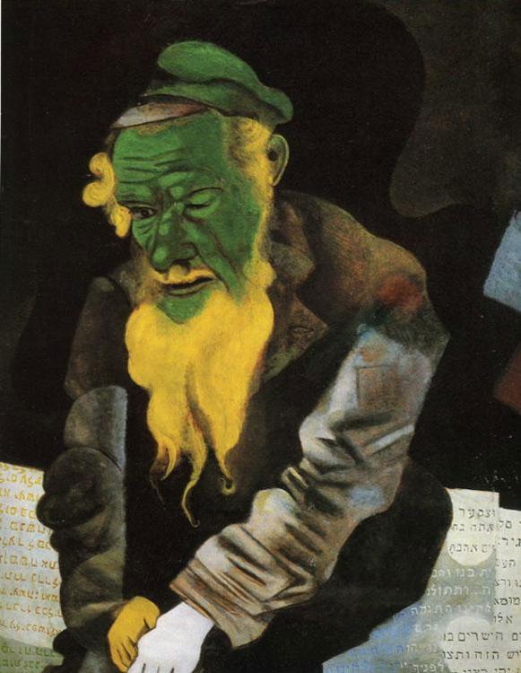 Jew in Green (Le juif en vert)
