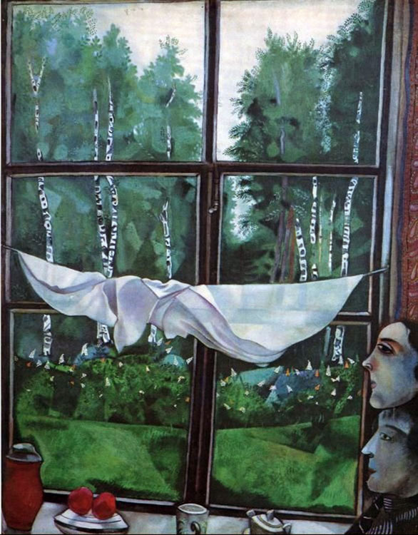 Window in the Country (Fenêtre à la campagne)