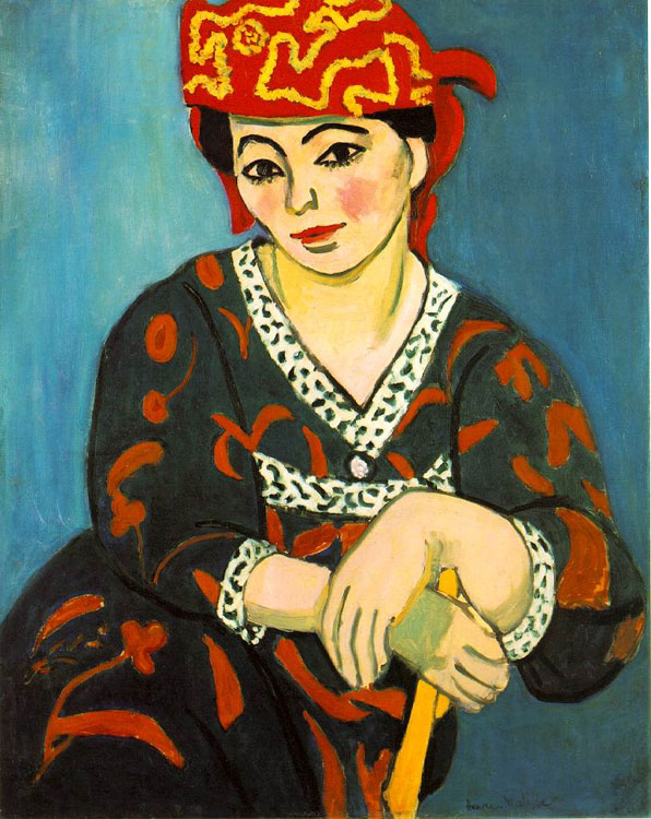 The Red Madras Headress (Mme Matisse: Madras Rouge)