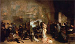 The Painter's Studio; A Real Allegory