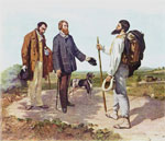 The Meeting, or Bonjour Monsieur Courbet