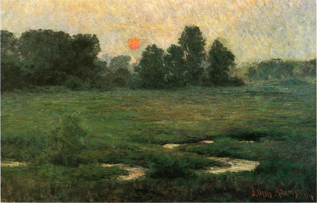 An August Sunset