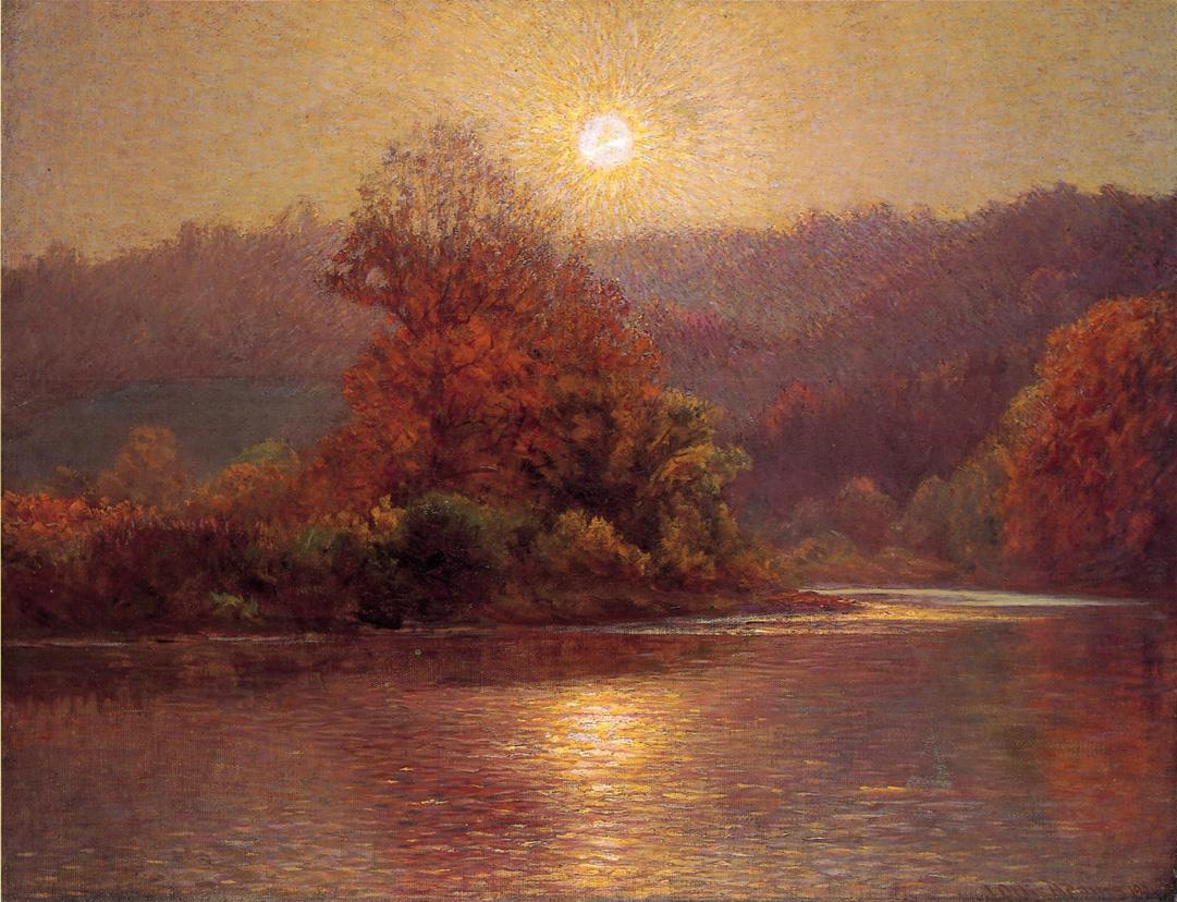 The Closing of an Autumn Day