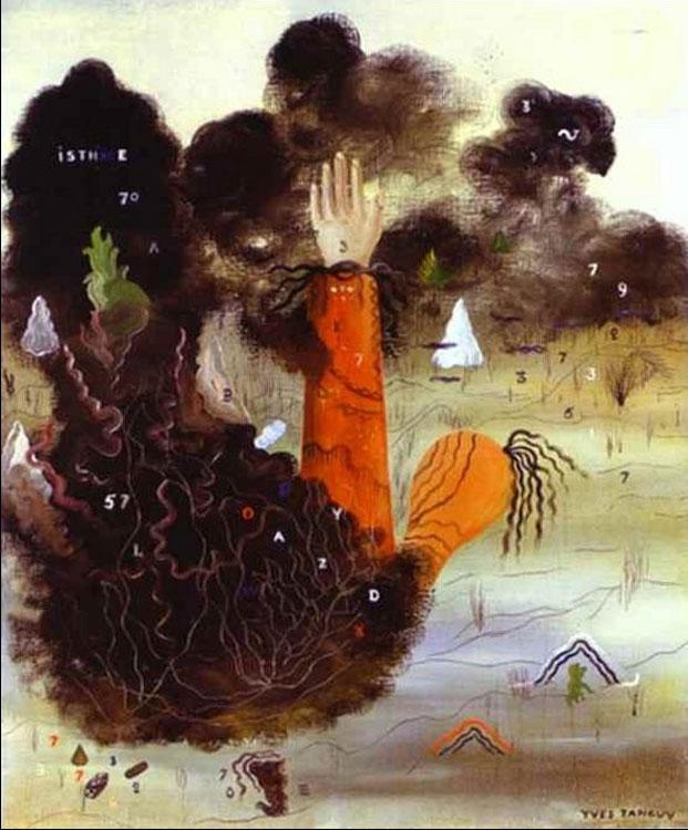 The Hand in the Clouds. La Main dans les nuages