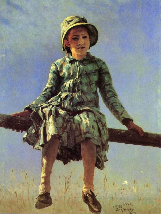 Portrait of Vera Repina