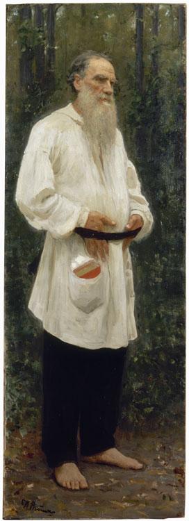 Lev Nikolayevich Tolstoy Shoeless