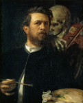 Self Portrait with Death as a Fiddler