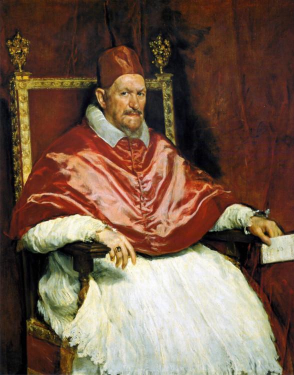 Retrato del Papa Inocencio X. Roma
