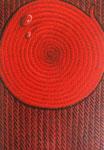 Kırmızı damlalı...