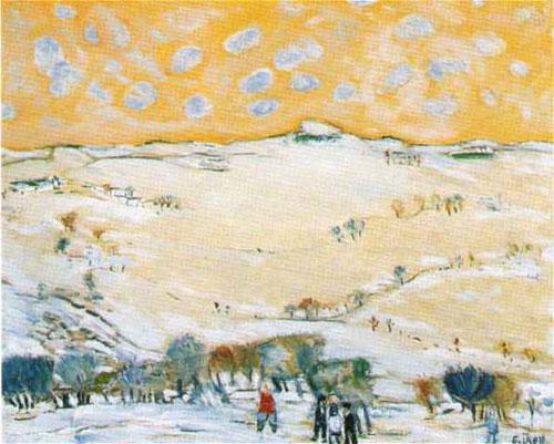 Ankara Yakınlarinda Kış