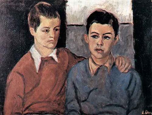 Ataturk Lisesinden iki Ogrenci